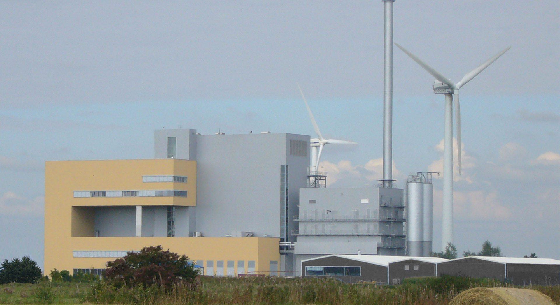 Industriearchitektur; Gewerbearchitektur; Kraftwerk Weener; Weener; Kraftwerk; Weener Industrie-Energie;