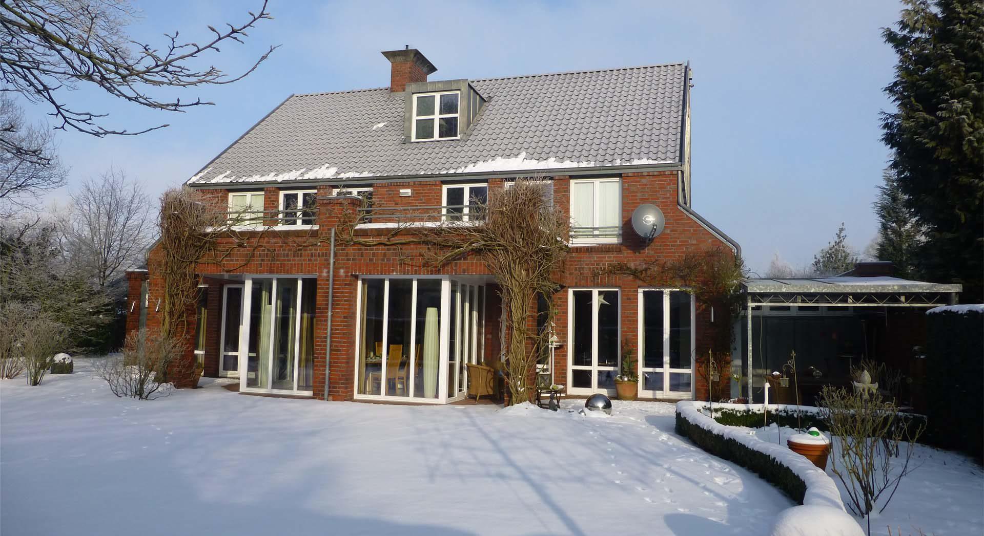 Einfamilienhaus; Architektur; Neubau; Gartengestaltung; Außenanlagen; Planung;