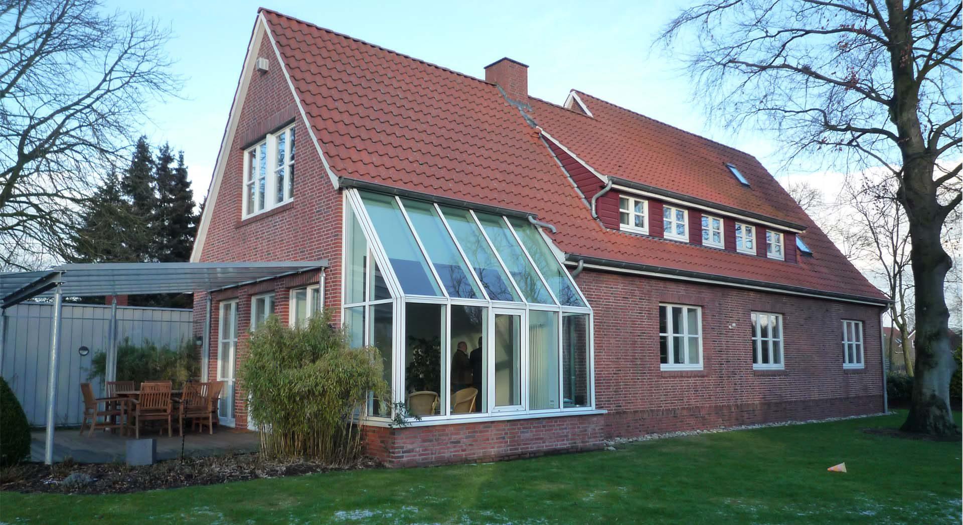 Einfamilienhaus; Architektur; Umbau; Wintergarten; Siedlungshaus;